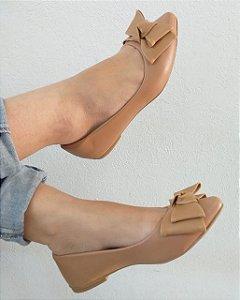 Sapatilha Marrom Laço-Mary Esteves