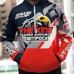 CASACO / AGASALHO TERMON OFICIAL THE KING HARD ENDURO