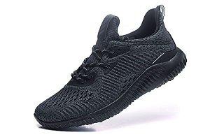 Tênis Adidas AlphaBounce EM - Masculino - Preto Total
