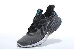 Tênis Adidas AlphaBounce - Masculino - Cinza