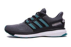 Tênis Adidas Energy Boost 3 - Masculino - Cinza/Verde