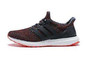 Tênis Adidas Ultraboost 4.0 - Feminino - Vermelho e Preto