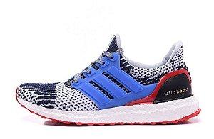 Tênis Adidas Ultra Boost - Feminino - Cinza/Azul