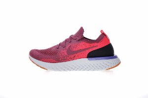 Tênis Nike Epic React Flyknit - Feminino - Borgonha