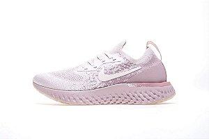 Tênis Nike Epic React Flyknit - Feminino - Rosa