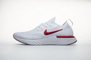 Tênis Nike Epic React Flyknit - Feminino - White Red