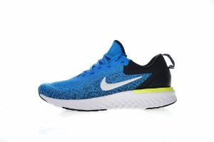 Tênis Nike Epic React Flyknit - Masculino - Azul e Preto