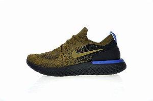 Tênis Nike Epic React Flyknit - Masculino - Khaki