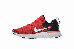 Tênis Nike Epic React Flyknit - Masculino - Vermelho e Branco