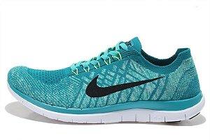 Tênis Nike Free 4.0 Flyknit - Masculino - Verde