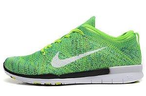 Tênis Nike Free 5.0 TR FlyKnit - Masculino - Verde