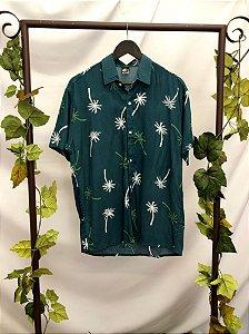 Camisa manga curta estampada Ciano (M)