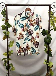 Camisa manga curta estampada Off White (M)