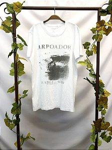 Camiseta branca Arpoador (G)