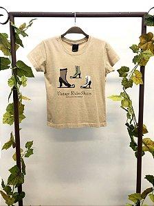 Camiseta Vintage Roller Skates Osklen (P)