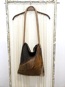 Bolsa de couro tiras