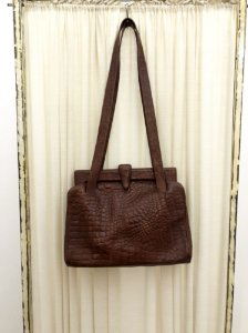 Bolsa vintage de Couro marrom
