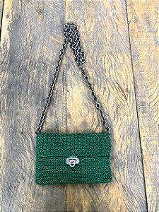 Bolsa de Crochê Verde (P)