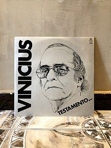 Disco Vinicius - Testamento...