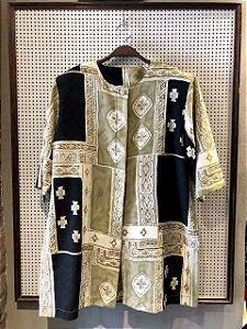 Camisa Estampada Cleri Fernandes (M)