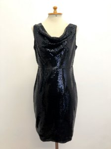 Vestido Curto Paetê Cinthia Rowley (42)