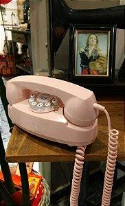 Telefone Retrô Princess Pink