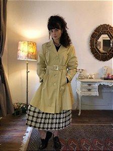 Casaco trench coat vintage (P/M)