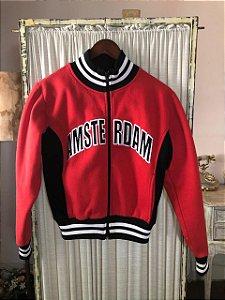 Bomber jacket vermelha (XS)