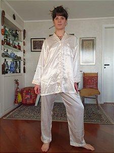 Pijama vintage de cetim G