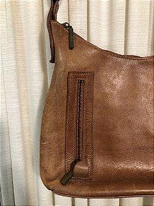 Bolsa vintage de couro M
