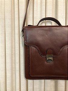 Bolsa vintage de couro