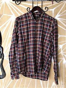 Camisa xadrez flanela M