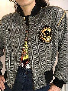 Bomber jacket de lã (M)