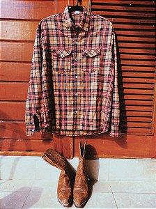 Camisa xadrez flanela GG