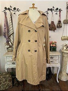 Casaco impermeável trench coat GG