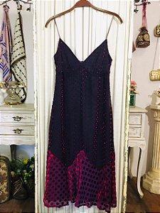 Slip dress poá G