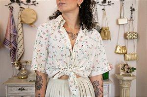 Camisa Vintage estampada Barbarella (42)