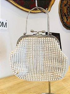 Bolsa de mão Vintage (Branca)