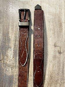 Cinto vintage couro