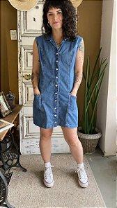 Vestido Jeans Com botões (42)