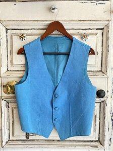 Colete de Alfaiataria Azul (U)