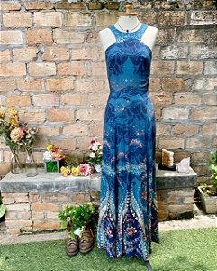 Vestido Antix paisley floral  (P)