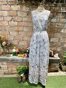 Vestido Antix estampa coelhos (P)