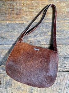 Bolsa de couro Arezzo Pêlos