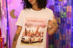 "Camiseta ""Ain't no school like the oldscool "" (M)"