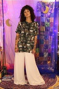 Camisa manga curta estampada (XL)