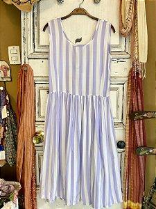Vestido Vintage Listrado (G)