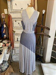 Vestido Giuliana Romanno listrado  (40)