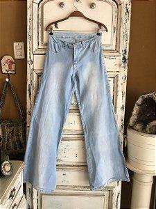 Calça Jeans Hamuche boca de sino (48)