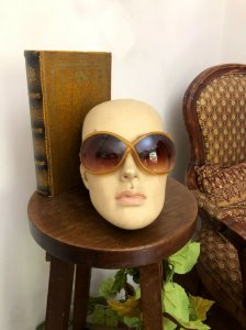 Oculos Grilife bege